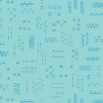 Great British Quilter Back to Basics Azure by Dashwood Studio 100% Cotton