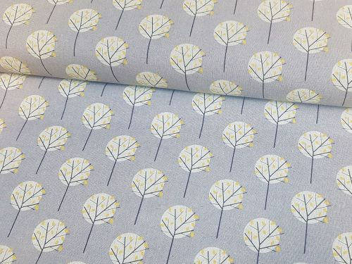 Chalk Hill Trees Extra Wide Linen Mix by Dashwood Studio