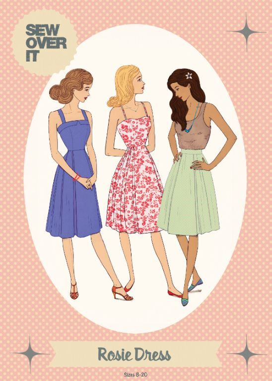 Rosie Dress Pattern by Sew Over It