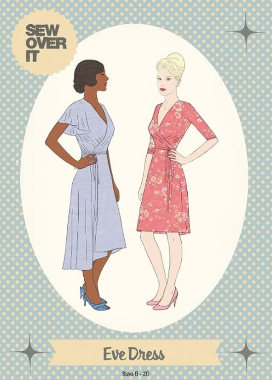 Eve Dress Pattern by Sew Over It