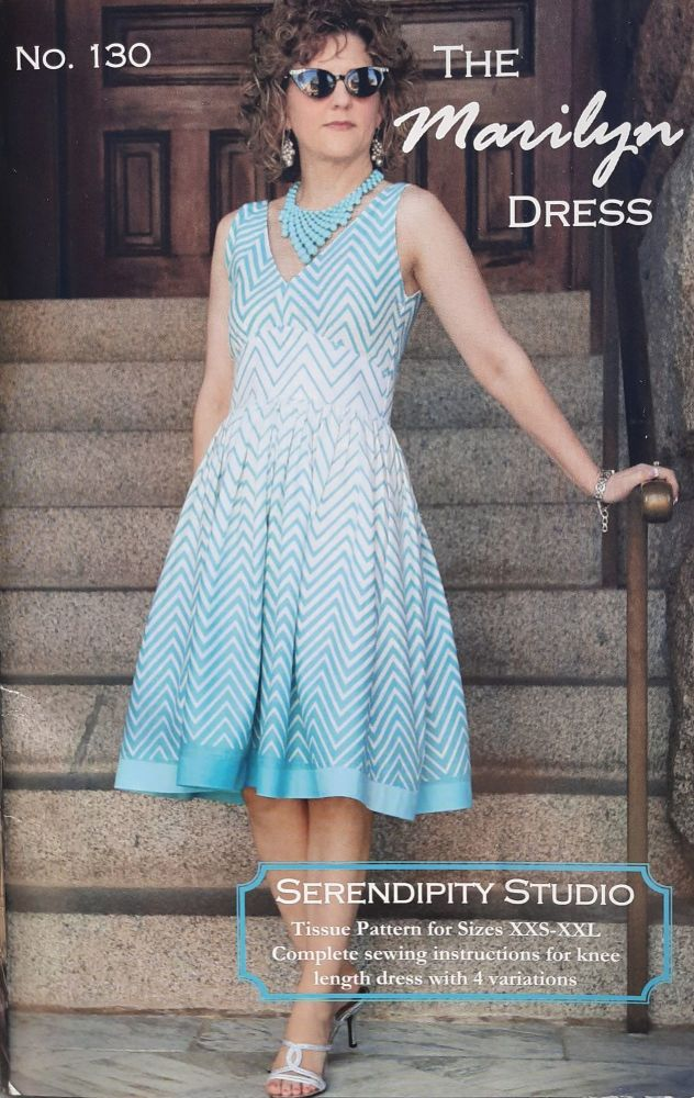 The Marilyn Dress Pattern by Serendipity Studio