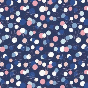 Celeste Dots Metallic by Dashwood Studio 100% Cotton