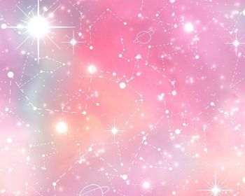 Pink Galaxy Star 100% Cotton Extra Wide Little Johnny Collection