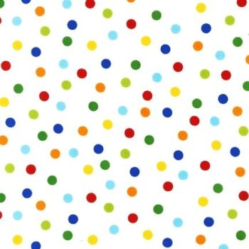 Remix Primary Dots by Robert Kaufman Fabrics 100% Cotton
