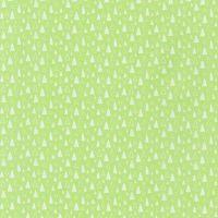 Neighbourhood Pals Green Triangles Trees by Robert Kaufman Fabrics 100% Cotton