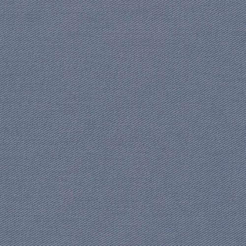 Ventana Twill Ash Grey by Sevenberry Plain Fabric 100% Cotton