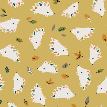 Hibernate Hedgehogs by Dashwood Studio 100% Cotton