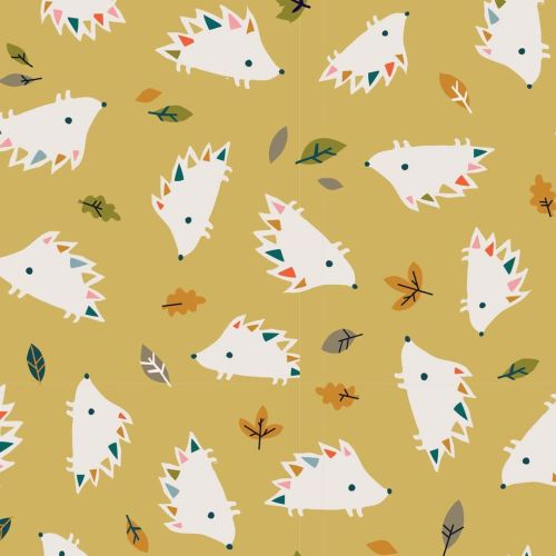 Hibernate Hedgehogs by Dashwood Studio 100% Cotton
