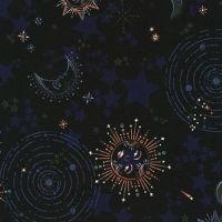 Moonlight Astral by Robert Kaufman Fabrics 100% Cotton