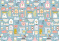 Hobbies Baking by Dashwood Studio 100% Cotton