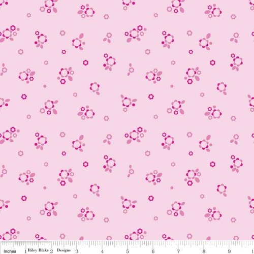 Home Petals Pink by Riley Blake Designs 100% Cotton