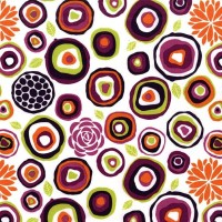 Rustique Crosscut Plum by Michael Miller 100% Cotton 86 x 108 cm