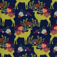 Rustique Yes Deer by Michael Miller Fabrics 100% Cotton