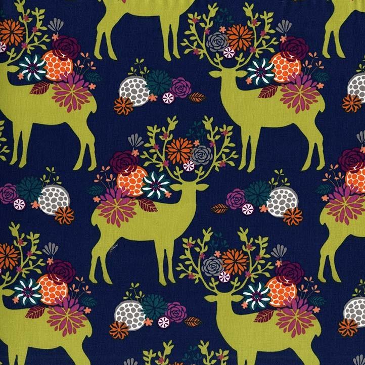 Rustique Yes Deer by Michael Miller Fabrics 100% Cotton