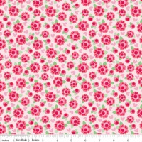 Lovey Dovey Roses Red by Riley Blake Designs 100% Cotton