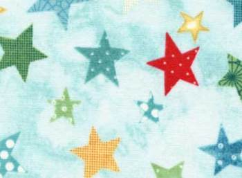 Warm Wishes Stars by Red Rooster 100% Cotton
