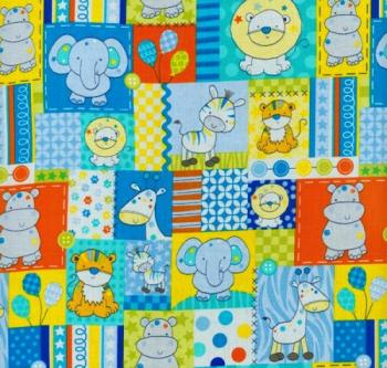 Le Cirque Aqua by Blank Quilting 100% Cotton