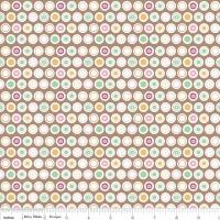 Flower Patch Dots by Riley Blake 100% Cotton 89 x 110 cm