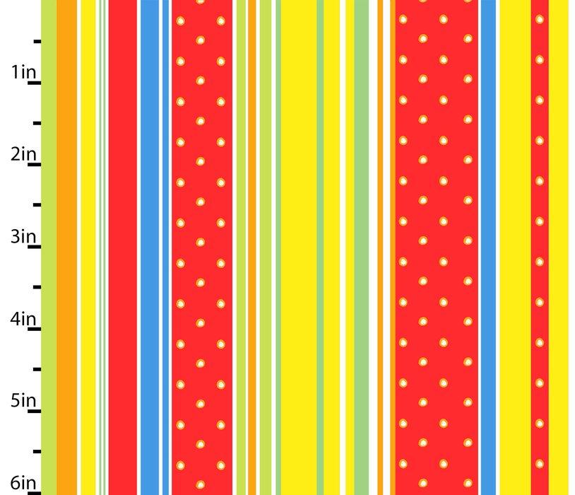 ABC Safari Multi by Studio E Fabrics 100% Cotton