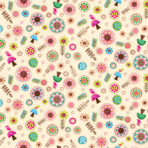 Friendly Forest 4 Jessica Flick Collection by SPX Fabrics 100% Cotton