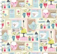 Garden Party Multi by Studio E Fabrics 100% Cotton