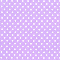 3mm Tiny Dots Lilac by Rose & Hubble 100% Cotton