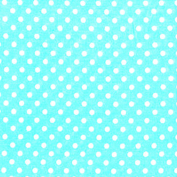 3mm Tiny Dots Turquoise by Rose & Hubble 100% Cotton