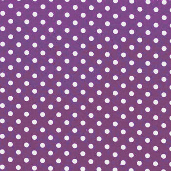 3mm Tiny Dots Purple by Rose & Hubble 100% Cotton