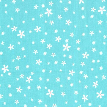 Princess Unicorn Blossom Turquoise by Michael Miller Fabrics 100% Cotton