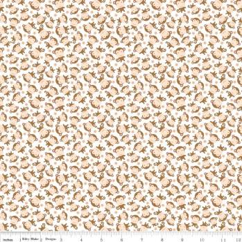 Sweet Baby Girl Monkeys White by Riley Blake 100% Cotton 29 x 107 cm