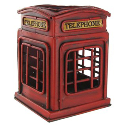 British Telephone Box Pen Holder