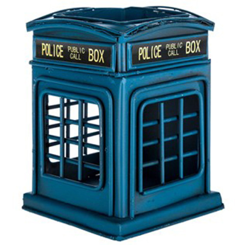 British Police Telephone Box Pen Holder