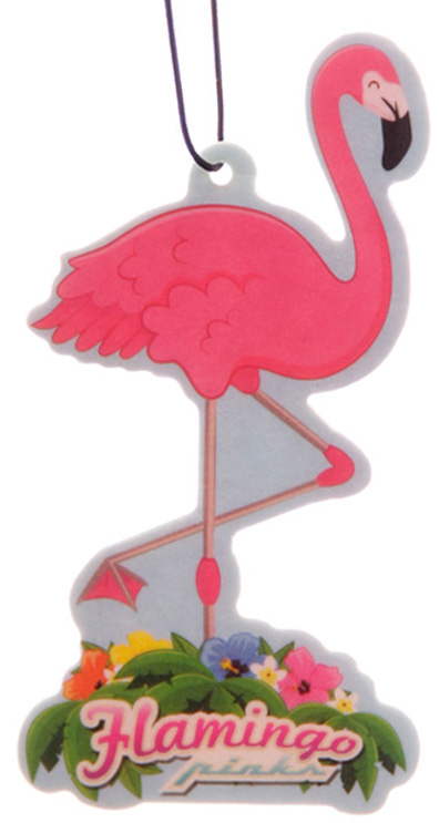 Pina Colada Scented Flamingo Air Freshener