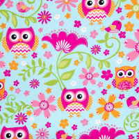 Brother Sister Design Studio OWL & BIRD fabric