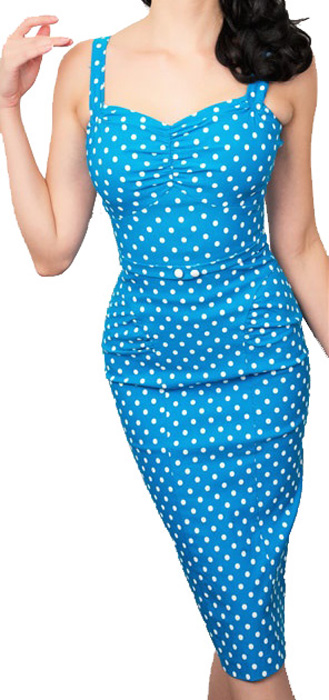 Stop Staring McKenzie Dress - Turquoise