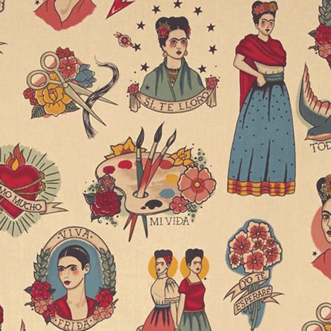 Alexander Henry TODO PARA TI Fabric - Taupe
