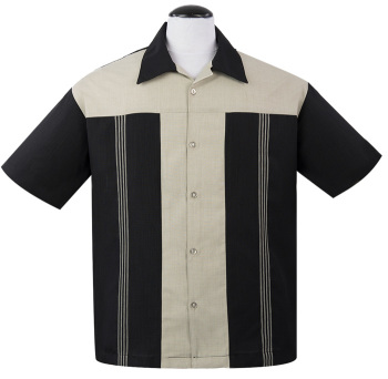 Steady Clothing Oswald Button Up Shirt - Black
