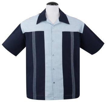 Steady Clothing Oswald Button Up Shirt - Navy