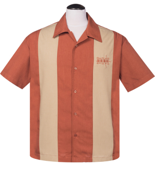 Steady Clothing Simple Times Button Shirt - Rust