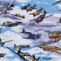 Nutex WARBIRDS Fabric