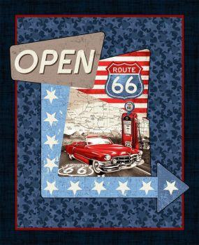 Studio E ALL AMERICAN ROAD TRIP Fabric Panel