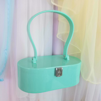 Lola Von Rose Vintage Inspired Purse - Seafoam Green