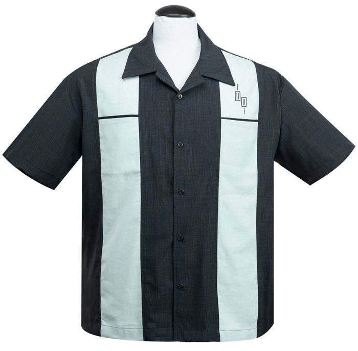 Steady Clothing Make A Scene Button Up Shirt - Charcoal
