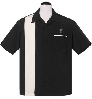 Steady Clothing Cocktail Lounge Button Up Shirt - Black