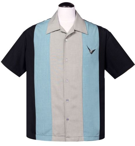 Steady Clothing Atomic Mad Men Button Up Shirt - Royal