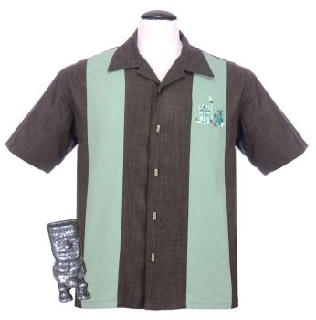 Steady Clothing Mickey Button Up Shirt - Charcoal