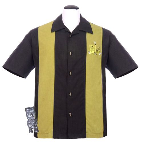 Steady Clothing Mickey Button Up Shirt - Black