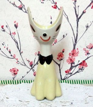 Tarcisio Toscin Scoop Head Cat Vase