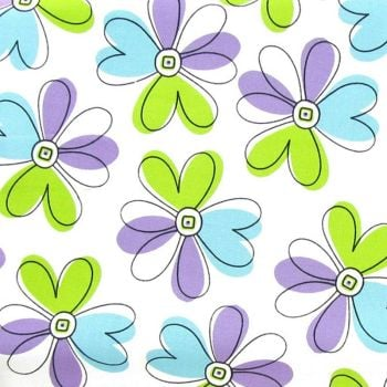 Brother Sister Design Studio FLOWER POWER Fabric