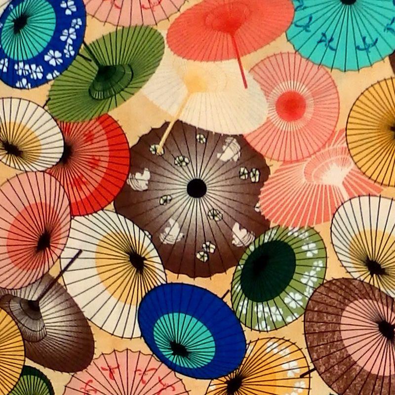 Springs Creative UMBRELLAS Fabric - Multi